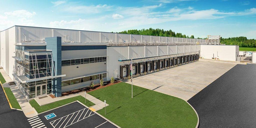 Tippmann-Design-Build-Lineage Logistics Cold Storage Facility