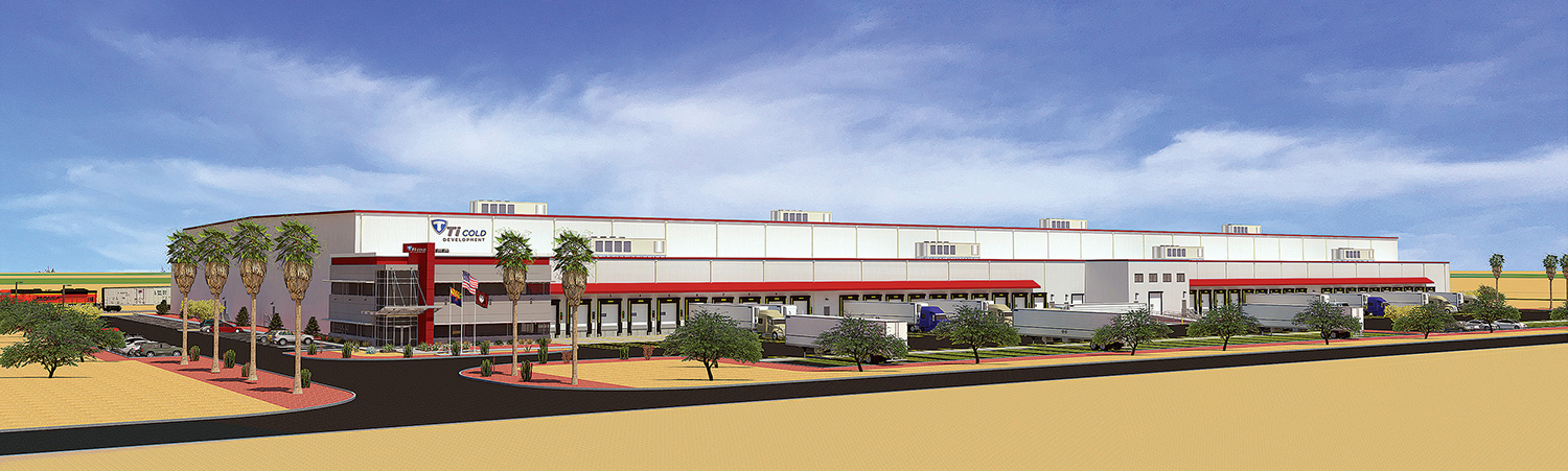 Phoenix Cold Storage Facility Rendering Ti Cold Development