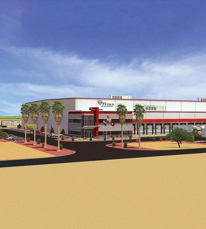 Phoenix Cold Storage Facility Rendering Ti Cold Development