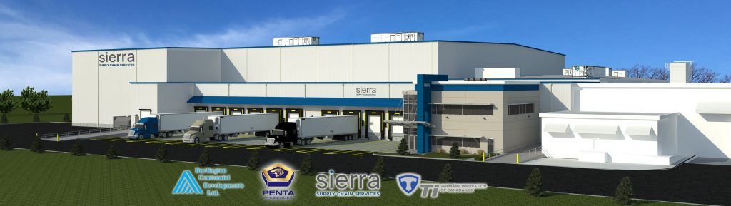 Sierra Cold Storage Rendering View