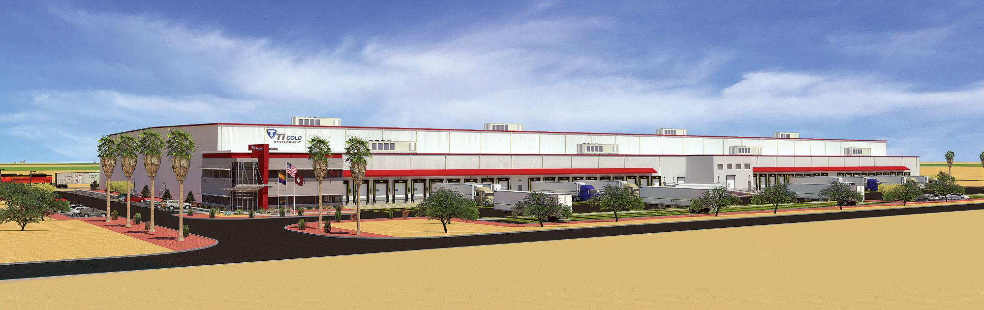 Phoenix AZ- Ti Cold Development Storage Facility Rendering
